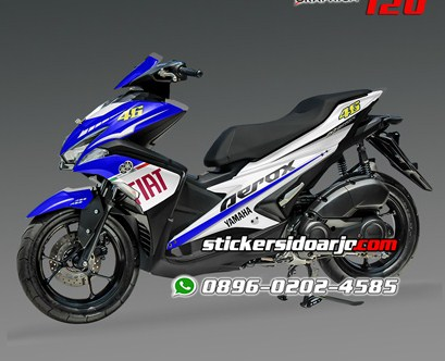 sticker decal aerox